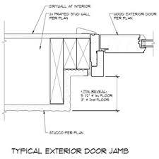 Exterior Door Jamb Exterior Door Jamb Detail Doors Pinterest Door Jamb And Doors