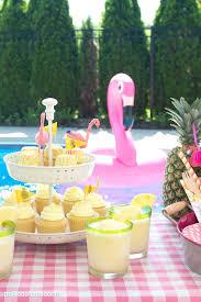 pool party ideas summer backyard flamingo pool party ideas the polka dot chair