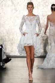 high to low wedding dress port s wedding dress get the high low look inside weddings