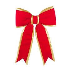ribbon and bows large outdoor christmas bows wayfair