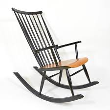 mid century finnish rocking chair for sale at pamono