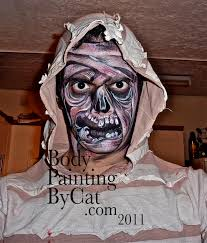 body painting halloween costumes halloween face paint u2013 body painting by cat