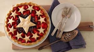 American Flag Pie Recipe Betty U0027s Best Red White And Blue Desserts Bettycrocker Com