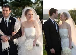 chelsea clinton wedding dress chelsea clinton and wayne cooper get married