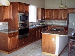 Chestnut Kitchen Cabinets Cherry Wood Bright White Madison Door Diy Rustic Kitchen Cabinets