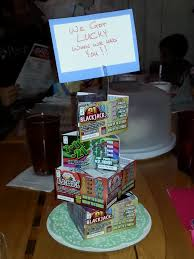 halloween scratch off tickets lottery cake 3sisters2stamp