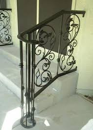 stunning exterior wrought iron stair railings ideas interior