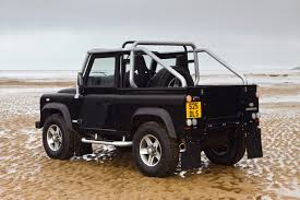 land rover defender 90 lifted land rover defender cabriolet two technical details history
