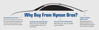 Matter Brothers Warehouse Sale by Hyman Bros New And Used Mazda Mitsubishi Land Rover Nissan
