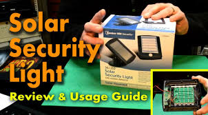 Led Solar Security Light With Motion Detector by Bunker Hill 36 Led Solar Security Light Review And Usage Guide