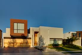 Blue House Orange Door Modern Cream Small Modern House Designs And Floor Plans That Can