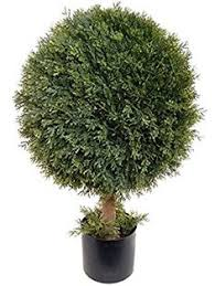 Topiaries Plants - larksilk 26 u201d boxwood topiary artificial ball tree plant outdoor