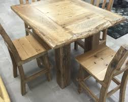 rustic pub table and chairs the feed trough table pub island table with authentic