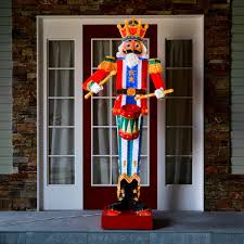 M Outdoor Nutcracker Figure 3350 White Leds
