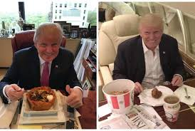 how trump u0027s greasy fast food diet appeals to his image