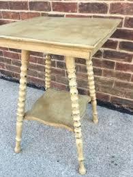 antique spindle leg side table antique spool leg oak side table 350 00 via etsy mom and