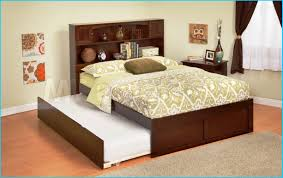White Queen Platform Bed With Storage Bedding Surprising Queen Trundle Bed Queen With Underneathjpg