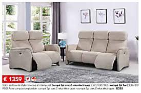 canape toff meubles toff promotion salon en tissu de style classique et