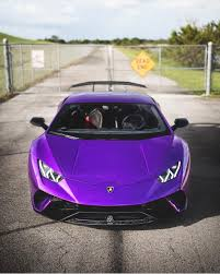 lamborghini dark purple lamborghini huracan performante painted in viola parsifae w