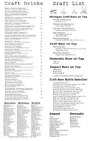 martini bar menu drinks menu u2013 shakers bar and grill wixom u2013 serving craft beer