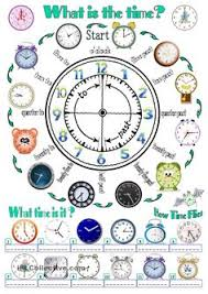 telling time on the quarter hour match it worksheets 2nd grade