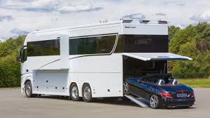 this 1 million motorhome is a luxury yacht on wheels for your