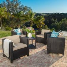 Patio Pillow Storage by Outdoor Club Chairs You U0027ll Love Wayfair