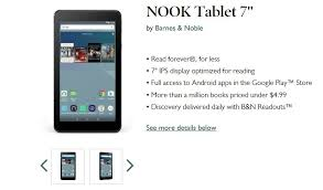 black friday barnes and nobles barnes u0026 noble launches 49 99 nook 7 inch tablet on black friday