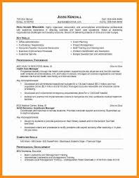 stunning resume profile or objective gallery simple resume