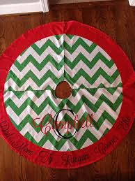 personalized tree skirt christmas tree skirts