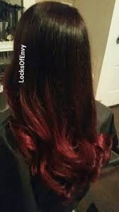 coke in curly hair my cherry coke hair black to dark red ombre fall hair colors