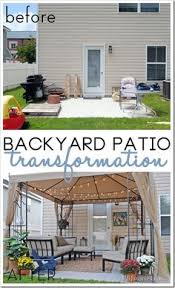 Backyard Concrete Patio Ideas by Small Patio Decorating Ideas By Kelly Of View Along The Way