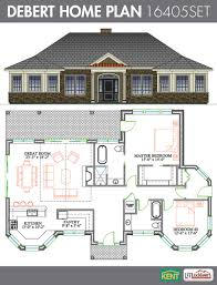 sandalwood 4 bedroom 3 bath home plan features open concept