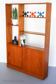 room dividers shelves retro bookcase ira design