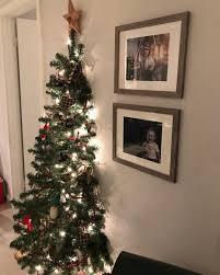 half christmas tree 6 alternative christmas tree ideas for the non traditionalists