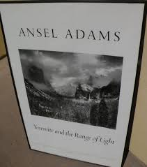 ansel adams yosemite and the range of light poster ansel adams 1902 1984 hand signed black and white poster yosemite