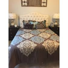 Damask Comforter Sets Madison Park Barnett 7 Piece Cotton Damask Comforter Set Free