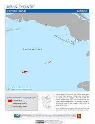 Cayman Islands Map In The World by Maps Global Rural Urban Mapping Project Grump V1 Sedac