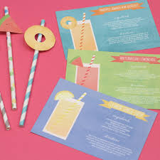 printable shot recipes cocktail cards and fruit flags three cocktail recipe cards ready to