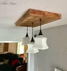 Wood Light Fixture Diy Barn Wood Light Fixture Hometalk