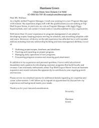 supervisor cover letter examples choice image letter samples format
