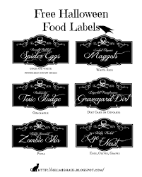 free printable halloween labels helmighaus free halloween party table labels