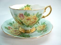 roses teacups royal albert large yellow tea roses tea cup and saucer yellow