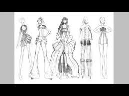new fashion fashion dresses sketches youtube