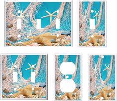 beach light switch covers beach glass in a stack blue green light switch cover plate you pick