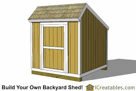 How To Build A 8x8 Shed From Scratch by 8x8 Storage Shed Plans Easy To Build Designs How To Build A Shed