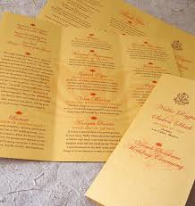 wedding program design 30 wedding program design ideas to guide your guest