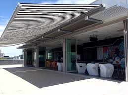 Extending Awnings Electric Retractable Awnings For Protection Against Harmful Rays