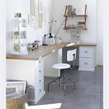 bureau d angle en pin plateau d angle pin tanguy am pm pin blanc déco