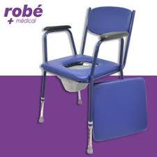 montauban siège percé chaise percée à hauteur réglable avec accoudoirs salamender